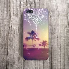 BEACH iPhone 5 case Protective iPhone 4 Case by casesbycsera