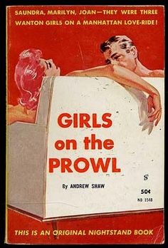 Saundra, Marilyn, Joan--They were three wanton girls on a Manhattan love-ride!