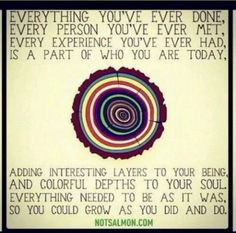 """i love the words """".adding layers to your being and colorful depths to your soul. Yoga Quotes, Words Quotes, Wise Words, Quotes Images, Quotes Quotes, Great Quotes, Quotes To Live By, Inspirational Quotes, Silly Quotes"""