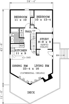 Cabin Ranch House Plan  House Plans Teak Table And Cabin - Floor plans for small homes