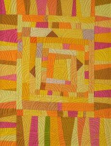 Summer Sorbet Art Quilt - Cindy Grisdela