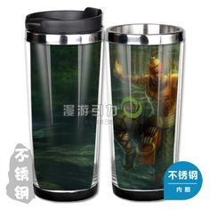 league of legends lol classic skin lee sin stainless steel coffee cup