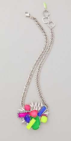 "Erickson Beamon ""color me crazy necklace"""
