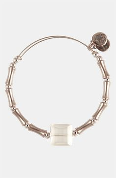 Alex and Ani 'Square Up' Expandable Wire Bangle available at #Nordstrom