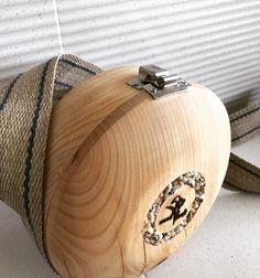 Handtaschen von Woodkraft sind gedrechselt, Steinornamente mit Epoxid ausgegossen. Bracelets, Jewelry, Cool Bag, Handmade, Handbags, Stones, Necklaces, Leather, Jewlery