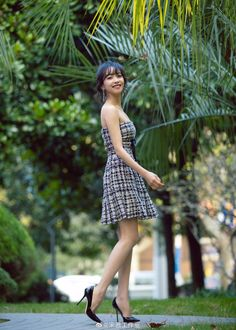 Song Qian, Victoria Song, Amazing Women, Strapless Dress, Actors, Songs, Vintage, Dresses, Style