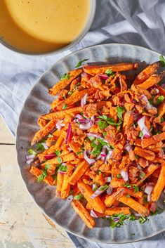 Vegas, Healthy Snacks, Healthy Recipes, Penne, Carrots, Bacon, Beverages, Food Porn, Food And Drink