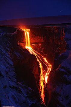 ✯ Lavafall into Hvannárgil - South Iceland