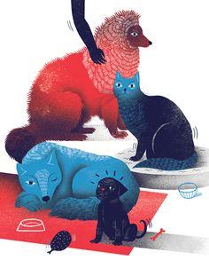 PET ILLUSTRATIONS BY AGATA DUDEK