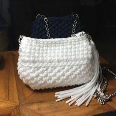 Bianco il colore dell'estate!#sardinia #fattoamanoconamore#fettucciamania #springsummer2017 #madeinitaly#fashion#handbag
