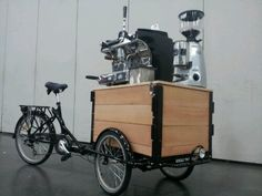 Ice Cream Bike Photos, Cargo Trike Photos