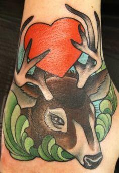 Awesome Whitetail Deer Tattoos!