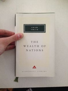 The Wealth of Nations Adam Smith The Wealth Of Nations, Book Worms, Literature, Literatura, Book Nerd, Book Lovers