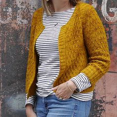 Ravelry: Beekeeper Cardigan pattern by Marie Greene