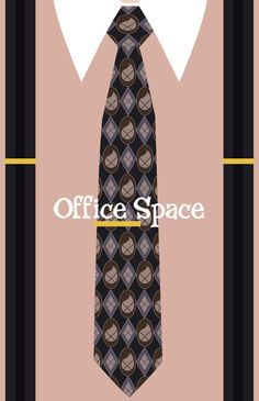 by Bill Pyle, Office Space movie poster