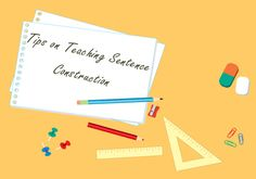 Some Basic Tips on Teaching Sentence Construction