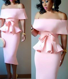 Women Elegant Space Layer Short Sleeve Ruffle Bow Two Piece Set Fashion Off Shoulder Tops and Skirt Bodycon Suits Classy Dress, Classy Outfits, Chic Outfits, Dress Outfits, Fashion Outfits, Classy Casual, Classy Chic, Elegant Dresses, Sexy Dresses