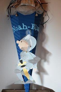 Schultüten - Schultüte Ritter - ein Designerstück von CreaRena bei DaWanda