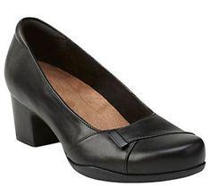 134243c6889173 Clarks Artisan Slip-on Leather Pumps - RosalynBelle. Women s Slip On  ShoesBlack ...