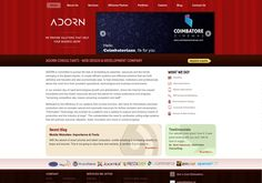 Adorn Web Design Company Specialize in Web Deisgning ,web development,Web applications.SEO Services in India.