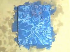 Plastic Wrap Painting Technique
