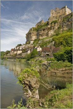 Beynac-et-Cazenac, Dordogne, France  We did a river boat to see the hillside castles, July 2010