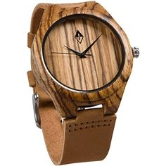 Amazon Lightning Deal 84% claimed: Wood Grain Handmade Mens Zebra Wood Natural Wooden Watch with Genuine Brown L... #LavaHot http://www.lavahotdeals.com/us/cheap/amazon-lightning-deal-84-claimed-wood-grain-handmade/131965