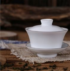 Handmade Tea Ceremony Chinese Gaiwan Tea Cup