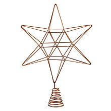 Geometric Christmas Star Large Finnish Himmeli Mobile Tree - Diy copper stars for christmas decor