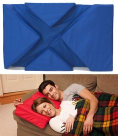 Great pillow for cuddlers! Big spoons won't have numb arms!