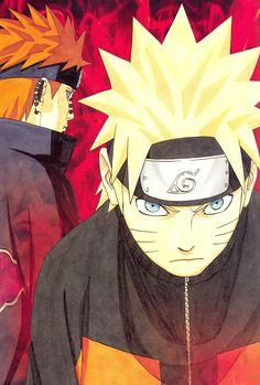 Tags: NARUTO, Uzumaki Naruto, Scan, Kishimoto Masashi, Pein, Official Art, NARUTO Illustrations