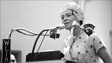 Step back Gloria Steinem. There was a feminist leader before you, and she was black. Check out the story of Daisy Bates, a free black woman who raged another Civil Rights Movement - the Rights of Women, particularly black women.