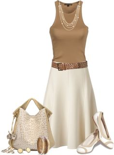 """""""Neutrals"""" by johnna-cameron ❤ liked on Polyvore"""