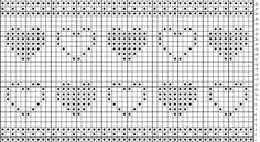 Bilderesultat for strikkediagram hjerte Popcorn Stitch, Charts, Diagram, Threading, Graphics, Graph Of A Function