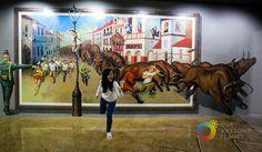 Art in Island permite interactuar con las obras de arte y ser parte de ellas.