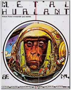 Métal Hurlant N°4 - Métal Hurlant N°4