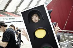 Xiumin  | official SMTOWNnow 140815 update 'SMTOWN Live World Tour IV in Seoul'