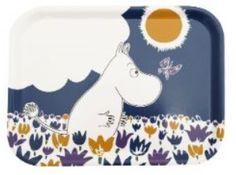 Moomin Butterfly Tray one of our most popular, sooo cute!