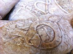 graffiti covered marble effigy, Salisbury Cathedral ©keechdesign2013