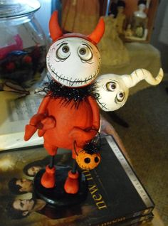 Classic Devil Grimmy reaper doll Made to order