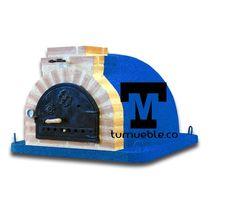 Horno de Leña Color Azul info@tumueble.co Cel: 319 252 2894 Llegamos a todo el Territorio Colombiano