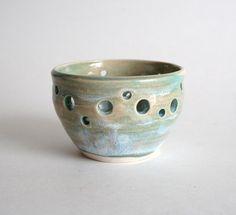 Porcelain Luminary - Votive Candle Holder #agteam #green #decor