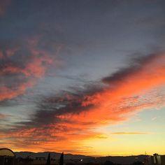 Sunset in Italy  #autunno #colori #tramonto #Umbria