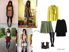 Have you grown up watching a Disney girl? have you ever wanted to be the one?? Bring back those High School Musical, Hannah Montana and Wizards of waverly place days<3 All you need is: 1) A Mini skirt 2) stockings 3) A top 4) A cardigan 5) sneakers or boots  Try this look and don't forget to tag us