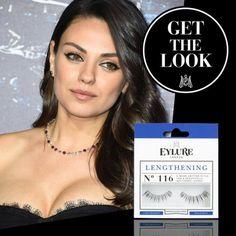 Get the 'Mila Kunis' look met de Eylure Lengthening lashes # 116