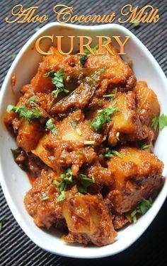 aloo coconut curry recipe
