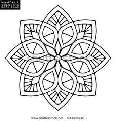 Find Flower Mandala Vintage Decorative Elements Oriental stock images in HD and millions of other royalty-free stock photos, illustrations and vectors in the Shutterstock collection. Mandala Drawing, Mandala Painting, Dot Painting, Painting Patterns, Motif Oriental, Oriental Pattern, Pattern Coloring Pages, Coloring Book Pages, Stained Glass Patterns