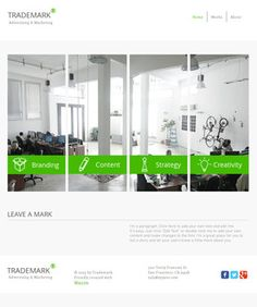 Free Website Templates, page 2 Free Website Templates, Advertising Agency, Bar Chart, Web Design, Floor Plans, Branding, Projects, Log Projects, Design Web