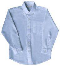 Boys' School Uniform Classroom® Long-Sleeve Light Blue Oxford 14