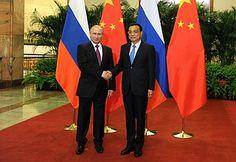 Встреча сПремьером Госсовета КНРЛи Кэцяном